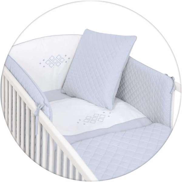CARO 5-teiliges Bettwäscheset   Ökotex zertifiziert